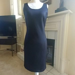 Michael Kors Navy Sleeveless Dress